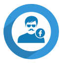 facebook, facebook user, fb, male, profile, social, user icon