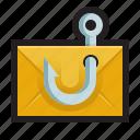 phishing, email, spam, social engineering, lure, hook