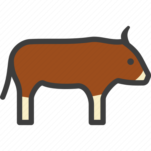 Buffalo, bull, bullock, ox icon - Download on Iconfinder