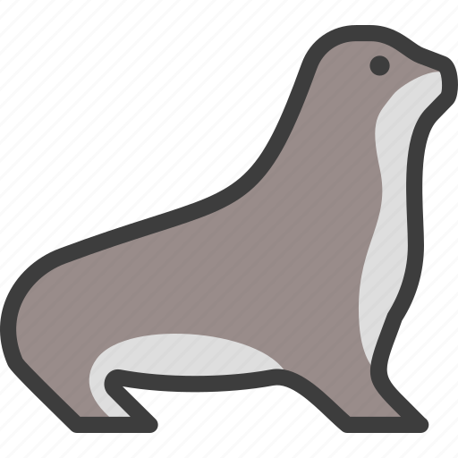 Animal, marine, pinniped, seal icon - Download on Iconfinder