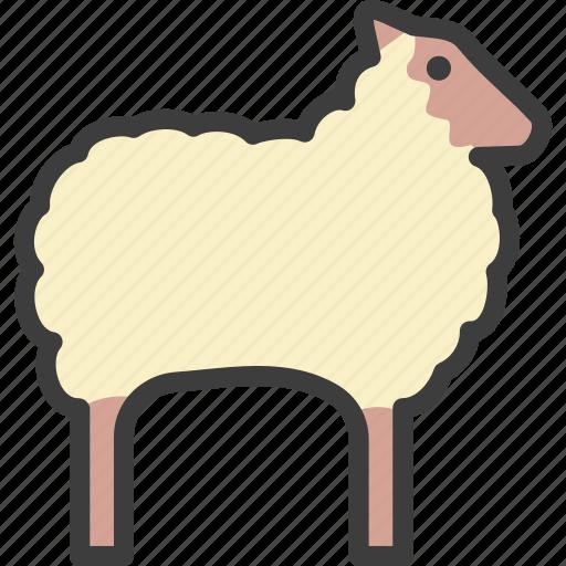 Animal, ewe, farm, sheep icon - Download on Iconfinder