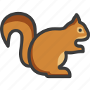 chipmunk, rodent, squirrel icon