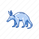 aardvark, african ant bear, animal, anteater, earth pig, mammal icon