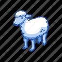 animals, domestic animal, lamb, mammal, ovis, sheep icon