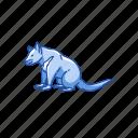 animal, mammal, omnivore animal, scavenger, tasmanian devil, taz icon
