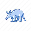 aardvark, african ant bear, animal, anteater, earth pig, mammal