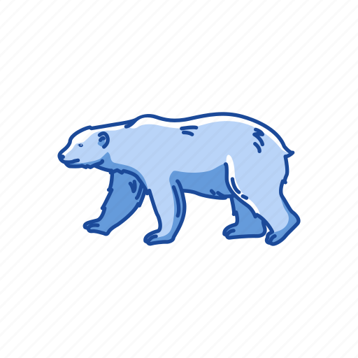 animal, bear, brown bear, grizzly, grizzly bear, mammal, wildbear icon