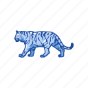 animal, cat, feline, largest cat, mammal, panther, tiger icon