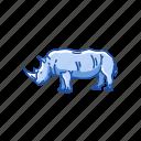 animal, aquatic mammal, hippo, hippopotami, hippopotamus, mammal icon