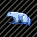 animals, bear, carcajou, glutton, gulo gulo, mammal, wolverine icon