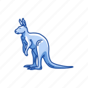 animal, joey, kangaroo, kanggaru, mammal, wallaby, wallaroo icon