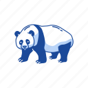animals, bear, giant panda, mammal, panda icon