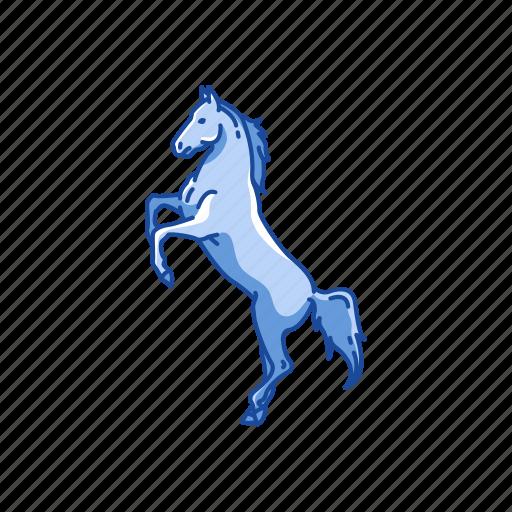 animal, dray horse, horse, mammal, mare, ponny, stallion icon
