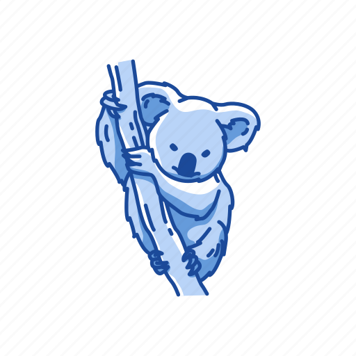 Animals, bear, koala, koala bear, mammal, wombat icon - Download on Iconfinder