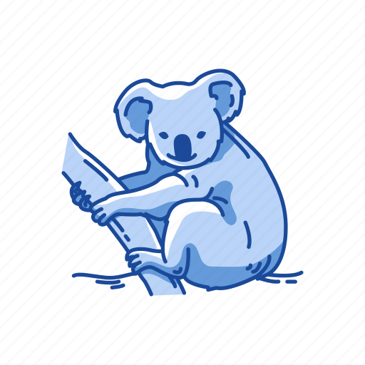 Animals, koala, koala bear, mammal, marsupial, wombat icon - Download on Iconfinder