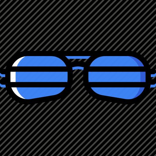 accessories, fashion, man, sunglasses icon