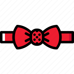 accessories, bow, fashion, man, tie icon