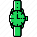 accessories, fashion, man, watch icon