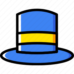 accessories, fashion, man, tophat icon