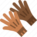accessories, fashion, gloves, man icon