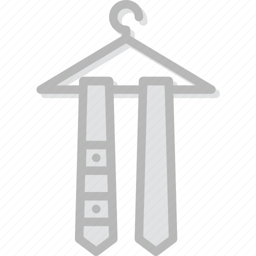 Tie, fashion, accessories, man icon