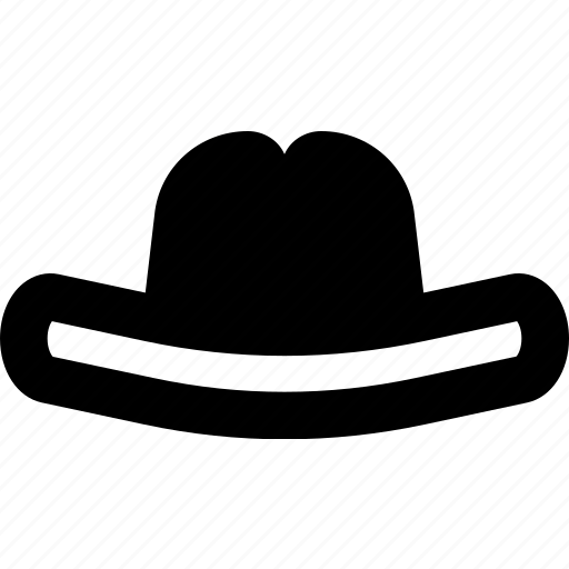 accessories, cowboy, fashion, hat, man icon