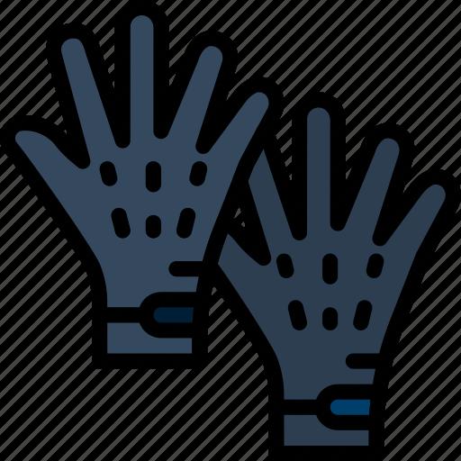Fashion, gloves, accessories, man icon