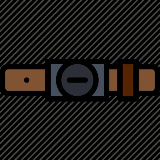 accessories, belt, fashion, man icon