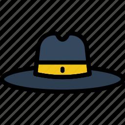 accessories, cowboy, fashion, hat, man icon