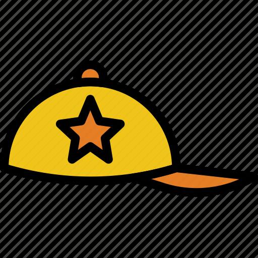 accessories, baseball, cap, fashion, man icon