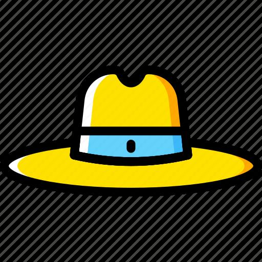 Cowboy, fashion, hat, accessories, man icon - Download