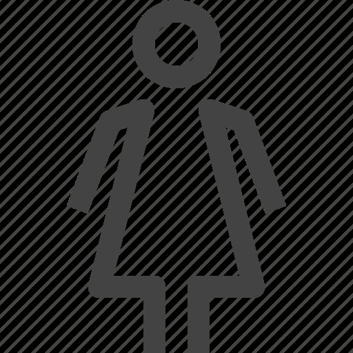 bride, female, lady, toilet, wc, wife, woman icon