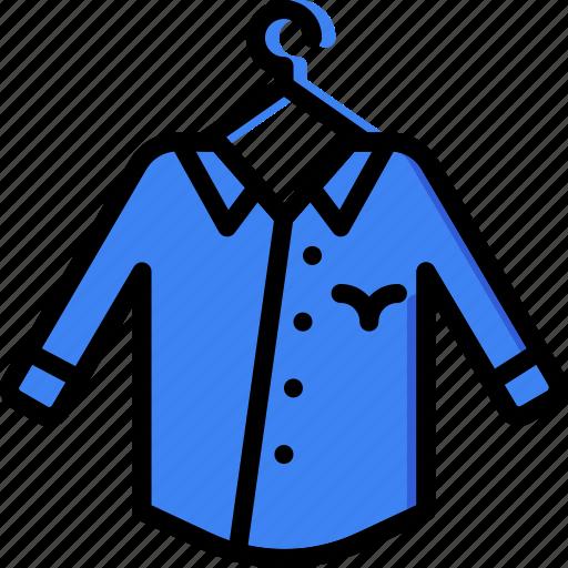 Clothes, fashion, shirt, man icon