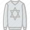 clothes, fashion, man, sweater icon