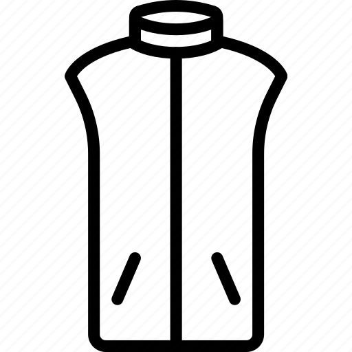 Clothes, fashion, man, vest icon - Download on Iconfinder