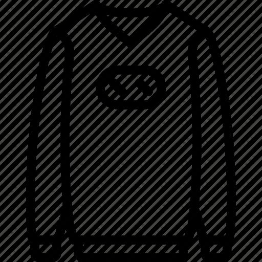 Clothes, sweater, fashion, man icon