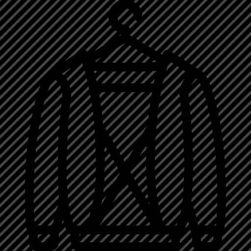 clothes, fashion, hoodie, man icon