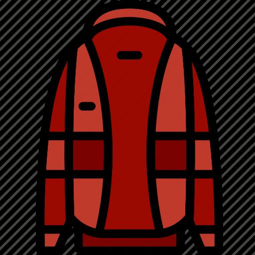 clothes, coat, fashion, man icon