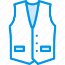 clothes, fashion, man, vest icon
