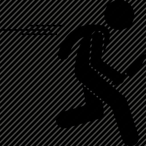 Criminal, escape, killer, murderer, robber, running icon - Download on Iconfinder