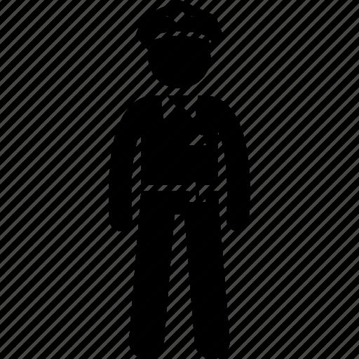 cop, police, policeman icon