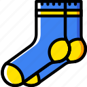 fashion, footwear, man, socks icon