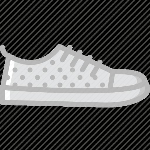 fashion, footwear, man, sneakers icon