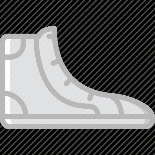 Fashion, sneakers, footwear, man icon