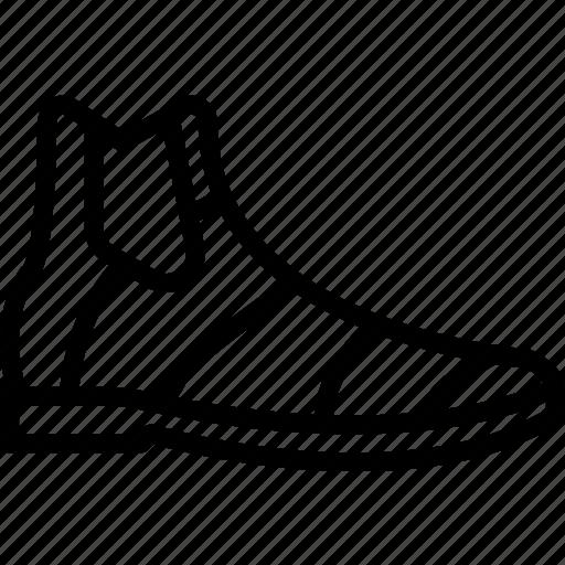 Fashion, footwear, boots, man icon