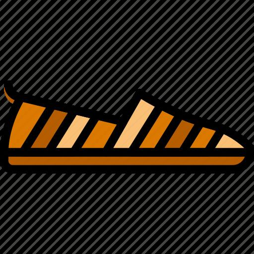fashion, footwear, loafer, man icon
