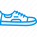 fashion, footwear, man, sneakers icon
