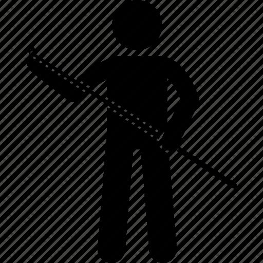 chalk, cue, player, snooker, stick icon