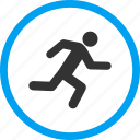 delivery, fast courier, fitness, health, run, runner, running man icon
