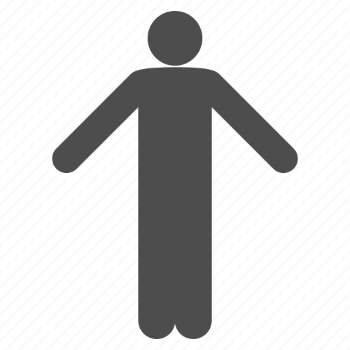 body, issue, man, person, pose, problem, question icon